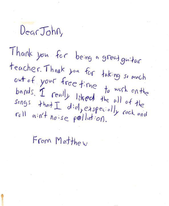 Neighbour note teacher appreciation john force in home toronto a thank you card from matthew to john altavistaventures Image collections
