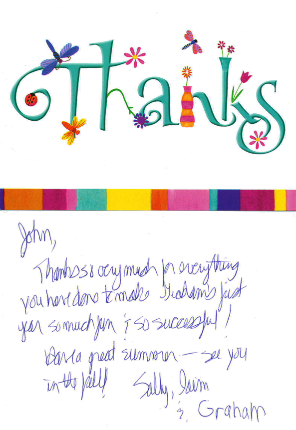 Neighbour Note Teacher Appreciation | John Force | In-Home ...