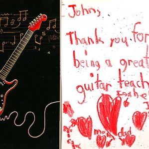 A Thank You Card from Isabella to John