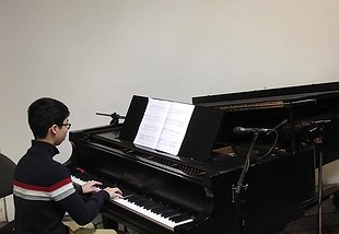 Neighbour Note Piano Student Performance Spotlight