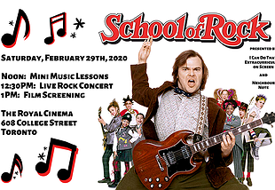 School of Rock Sat. Feb.29, 2020